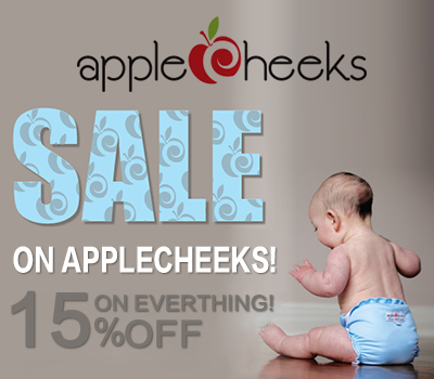 applecheeks cloth diaper sales