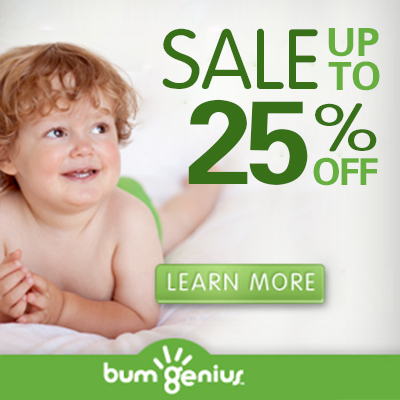 boxing day sales - bumgenius cloth diapers