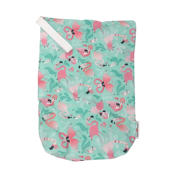 AppleCheeks Zipped Storage Sac Size 1 - Flamingle