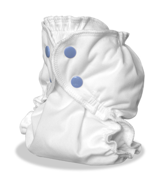 applecheeks envelop cloth diaper cover - STORM