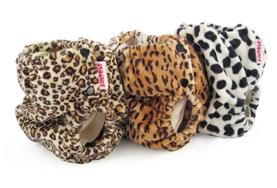 berryplush aio diaper animal print collection