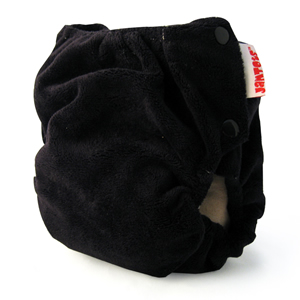 berryplush aio cloth diaper - black