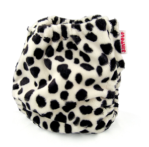 berryplush aio cloth diaper - dalmation