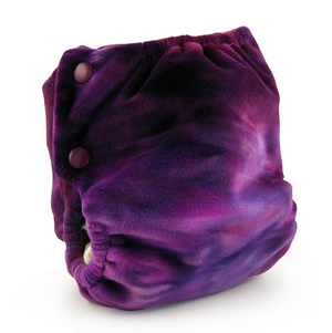 berryplush aio cloth diaper - northern lights