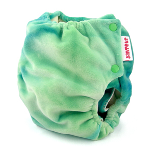 berryplush aio cloth diaper - rainforest
