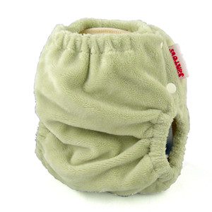 berryplush aio cloth diaper - sage