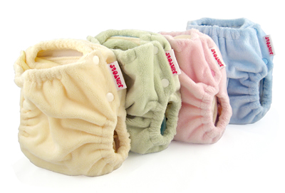 berryplush aio diaper solid color collection