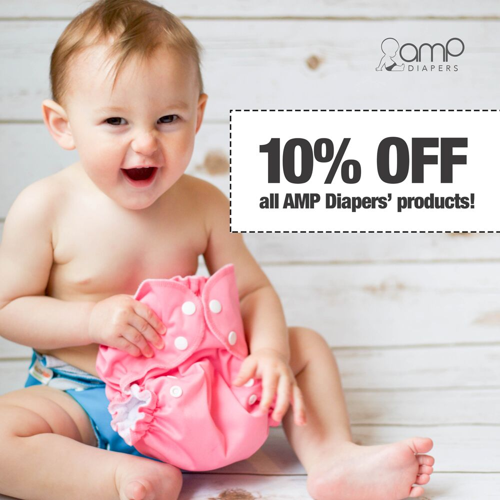 AMP cloth diaper sale