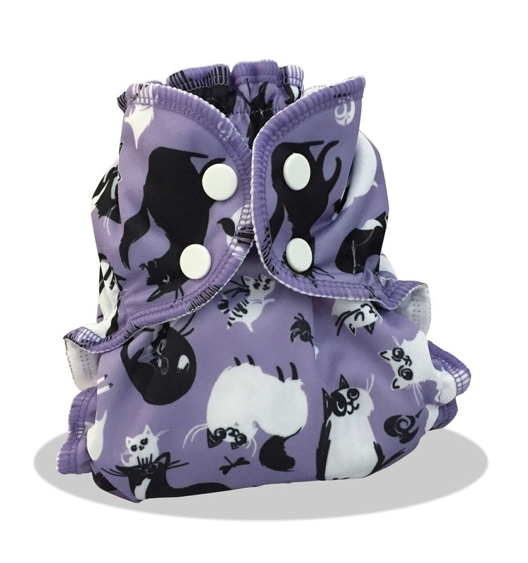 applecheeks envelop cloth diaper cover - CATURDAY