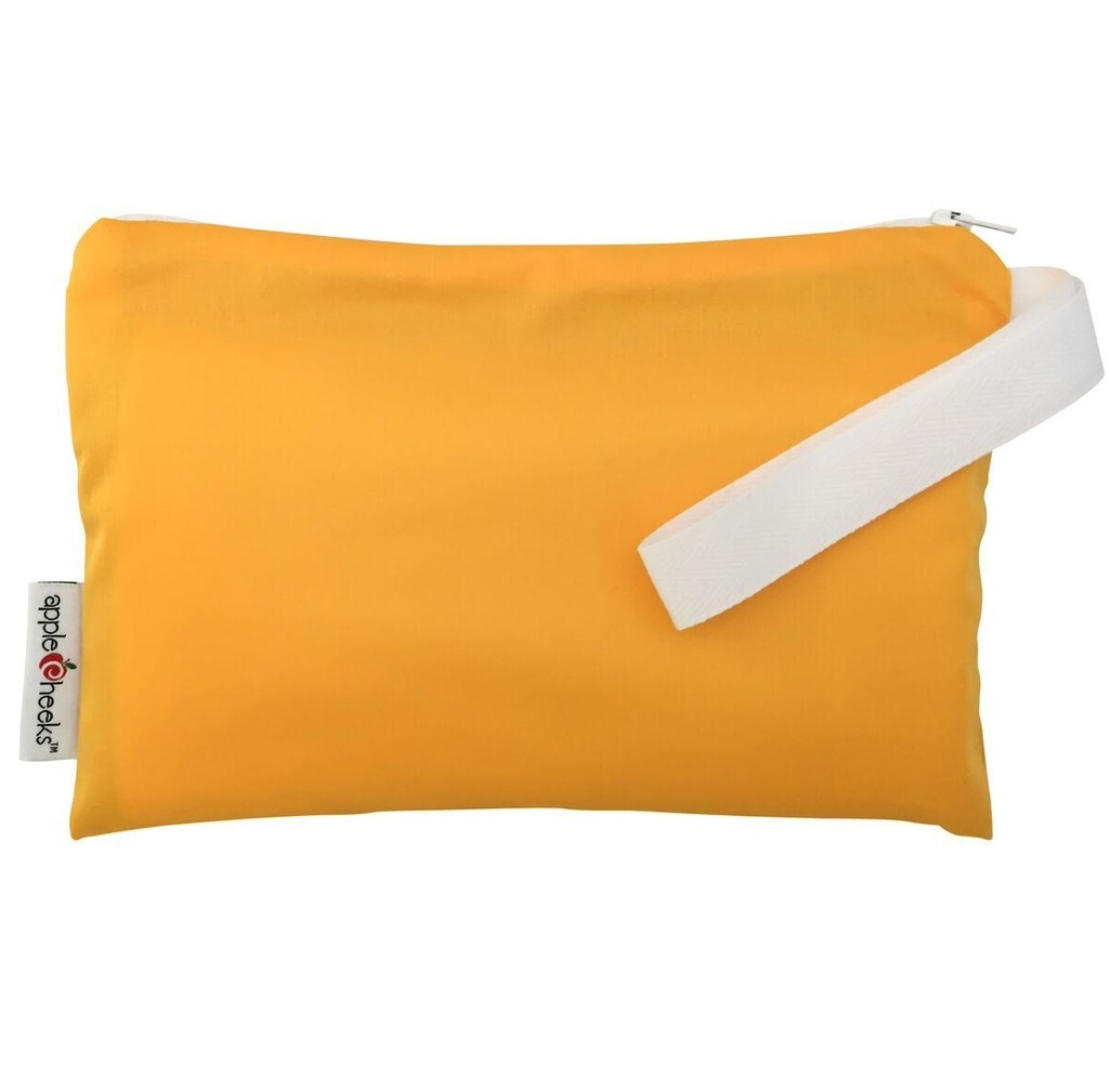 applecheeks zippered storage bag - do not worry
