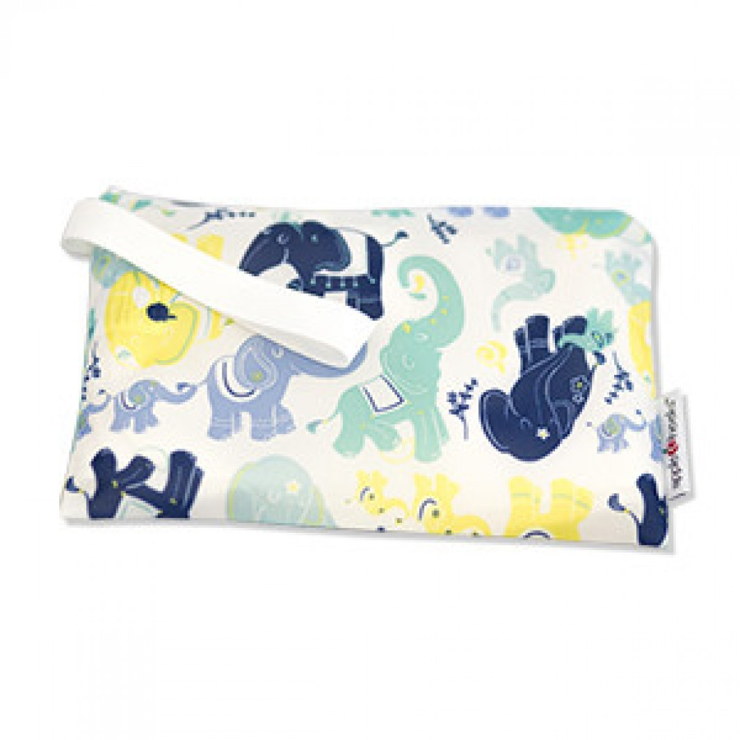 applecheeks zippered storage bag - Irrelephant