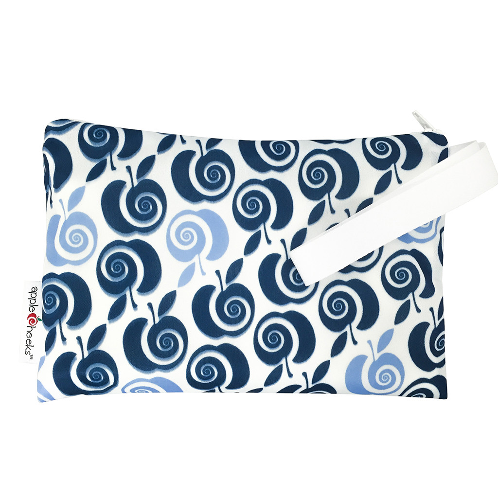 applecheeks zippered storage bag -  Out of the Blue