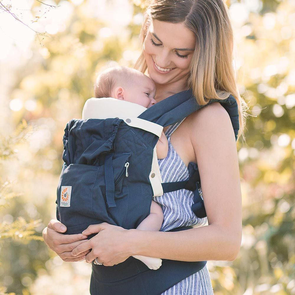 how to use ergo baby carrier without infant insert
