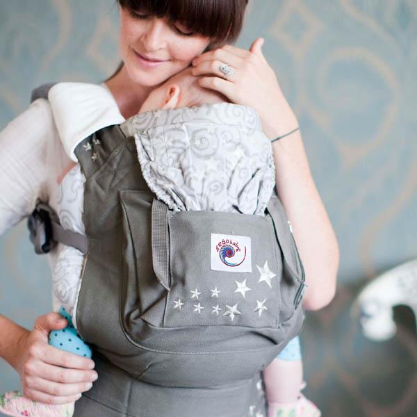 Ergo Baby Bc2epk1 Galaxy Grey Baby Carrier 2012 Ergo