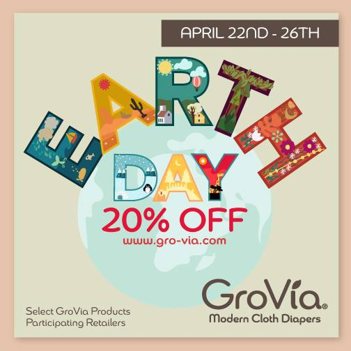 grovia earth day sale