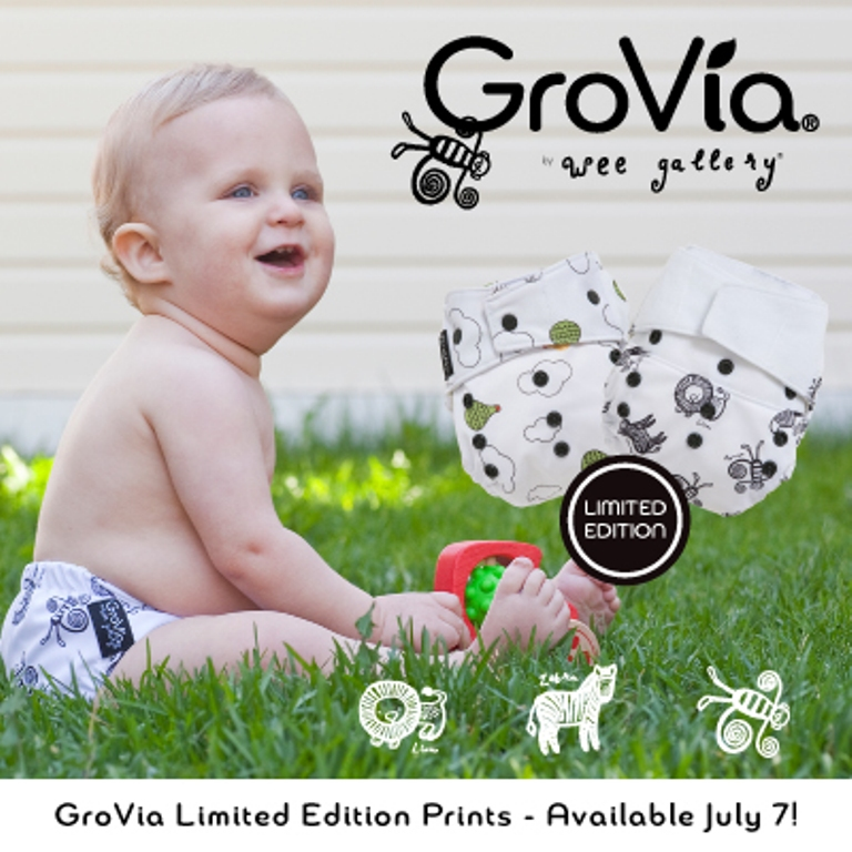 grovia wee gallery diapers