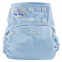 happy heinys one for all one size cloth diaper - babyblue