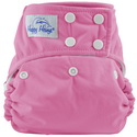 happy heinys one for all one size cloth diaper - bubblegum