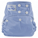 happy heinys one for all one size cloth diaper - dark periwinkle