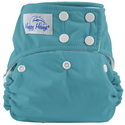 happy heinys one for all one size cloth diaper - jade