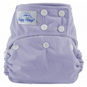 happy heinys one for all one size cloth diaper - lavender