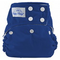 happy heinys one for all one size cloth diaper - royal blue