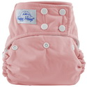 happy heinys one for all one size cloth diaper - shrimp