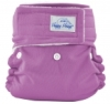 happy heinys one size cloth diaper - violet