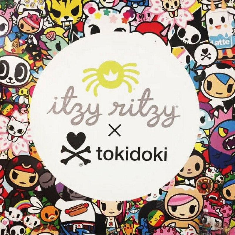 itzy ritzy tokidoki collection