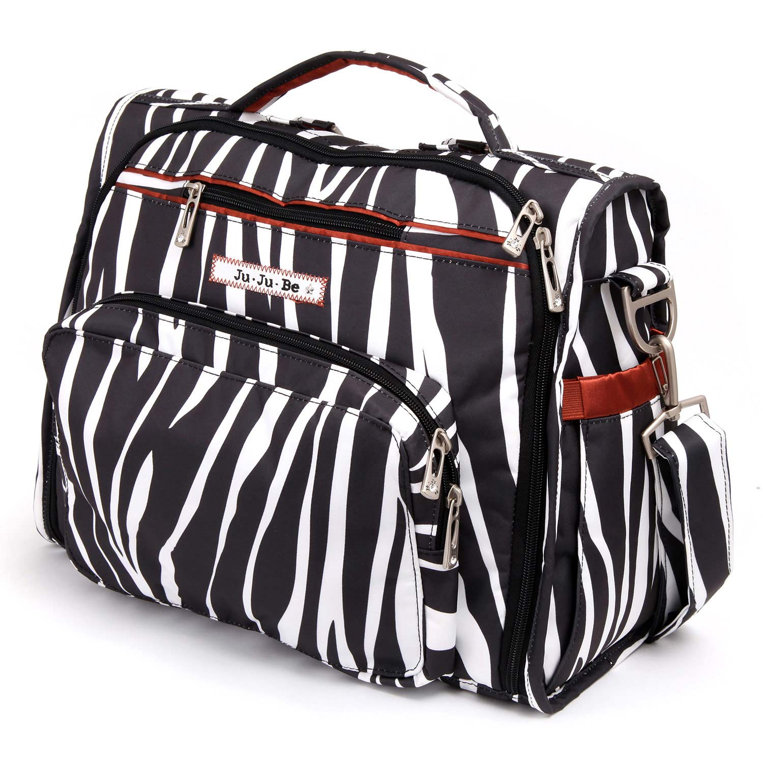 jujube diaper bag bff -  Safari Stripes