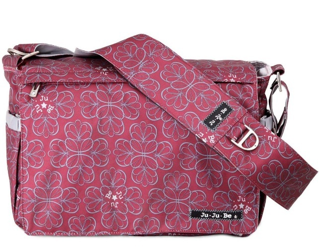 jujube diaper bag be all - Black Cherry Twirl