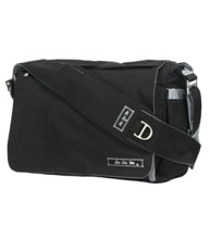 jujube diaper bag be all - black silver