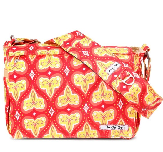 jujube diaper bag be all - coral kiss