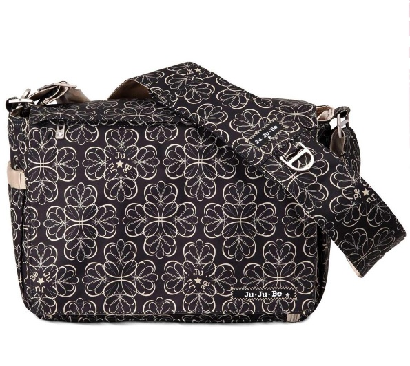jujube diaper bag be all - licorice twirl