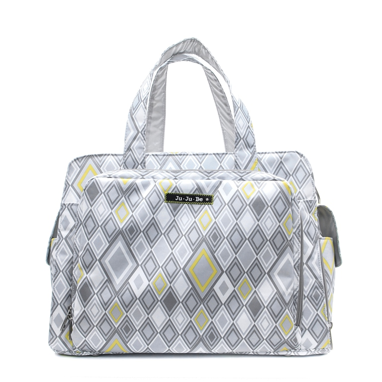 jujube diaper bag be prepared - silver ice