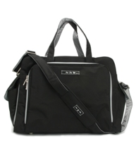 jujube diaper bag be prepared - black silver