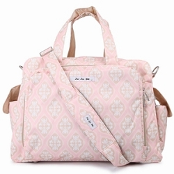 jujube diaper bag be prepared - blush