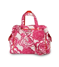 jujube diaper bag be prepared - fuchsia blossoms