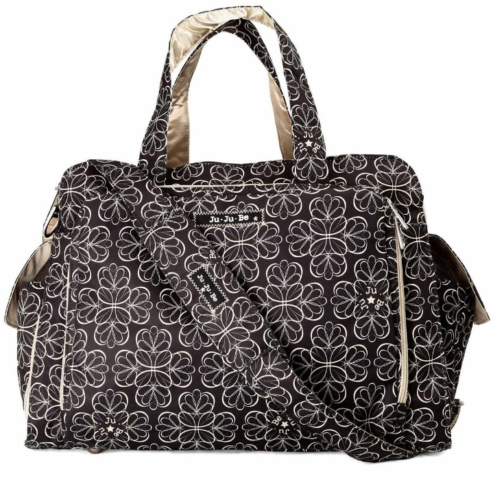 jujube diaper bag be prepared - Licorice Twirl