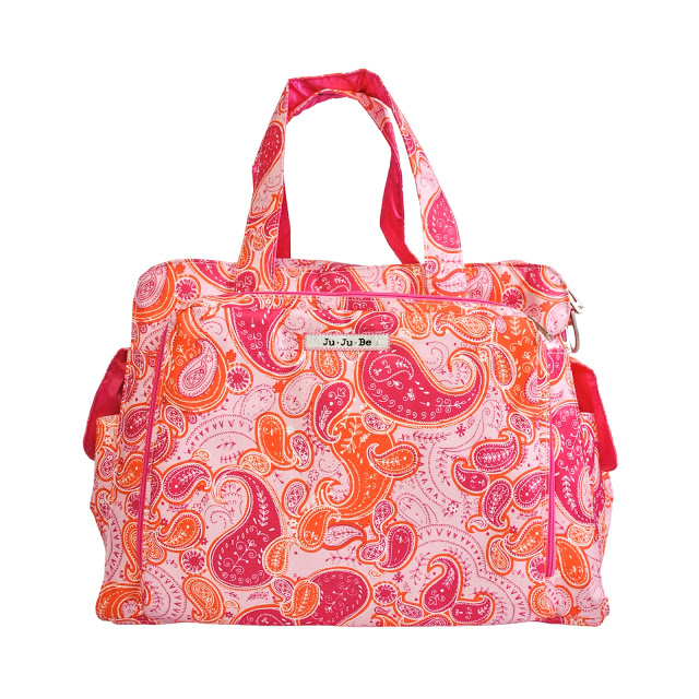 jujube diaper bag be prepared - perfect paisley