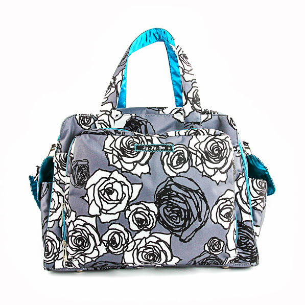 jujube diaper bag be prepared - charcoal roses