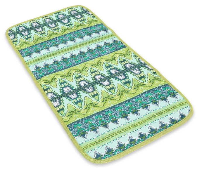jujube changing pad - sea glass