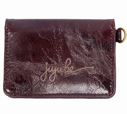 jujube wallet business be earth leather - brown