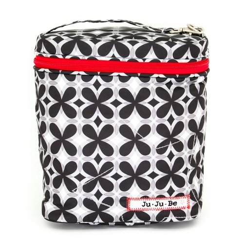 jujube diaper bag fuel cell - crimson