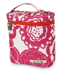 jujube diaper bag fuel cell - fuchsia