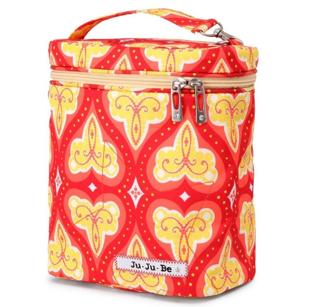 jujube diaper bag fuel cell - coral kiss