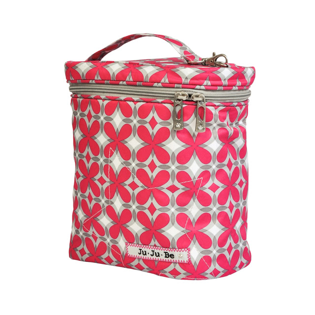 jujube diaper bag fuel cell - pink pinwheels