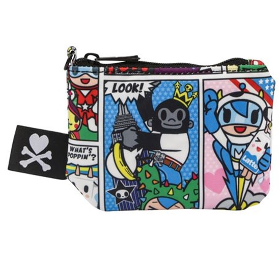 tokidoki super toki coin purse