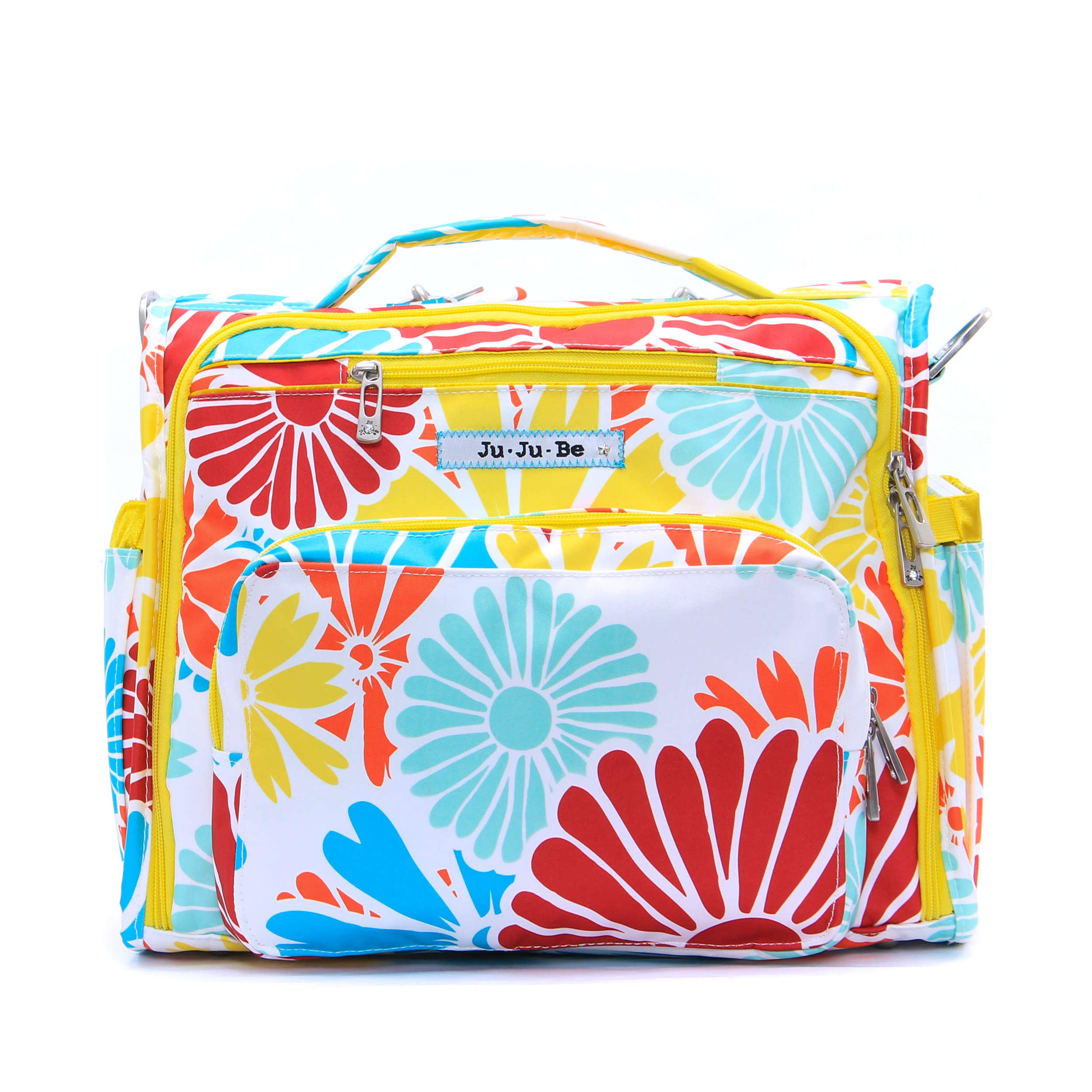 jujube diaper bag bff - flower power