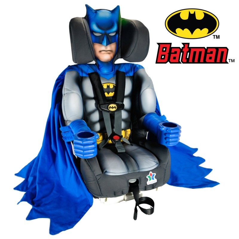 kidsembrace boosters and carseats - ninja turtle, batman, spiderman